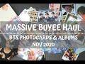 Big Buyee Haul - BTS Photocards & Albums Nov 2020   Noona ARMY