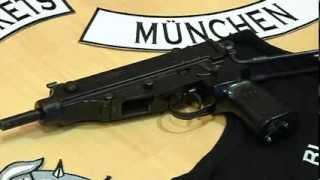 Razzia gegen Rockerbande Black Jackets in München