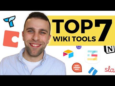 Best 7 Team Wiki Tools 2020