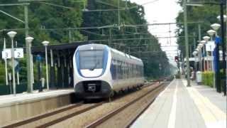 Treinen op Station Driebergen-Zeist - 11 Augustus 2012