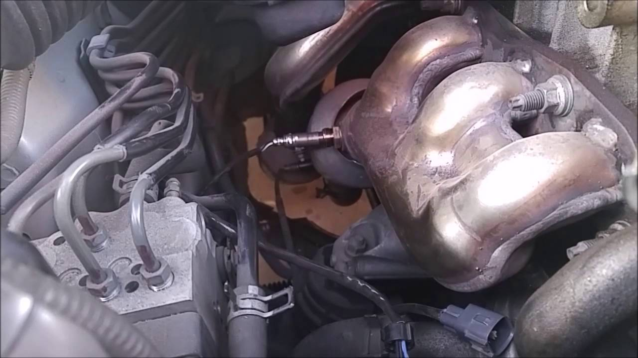 hight resolution of diy how to replace your oxygen sensor with code p0141 for lexus is300 winston buzon youtube