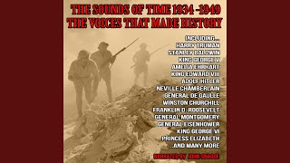 Britain Stands Up Alone : Gas-Mask Training/ Low Countries Invaded/ Singing Tommies / J. B....