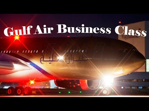 Gulf Air Business Class - London to Bahrain GF002 A330 with Falcon Gold Heathrow Lounge