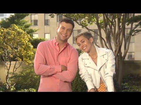 Miley Cyrus Funny SNL promos 2013