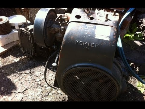 Got Me A KOHLER K241S 10HP Today. - YouTube