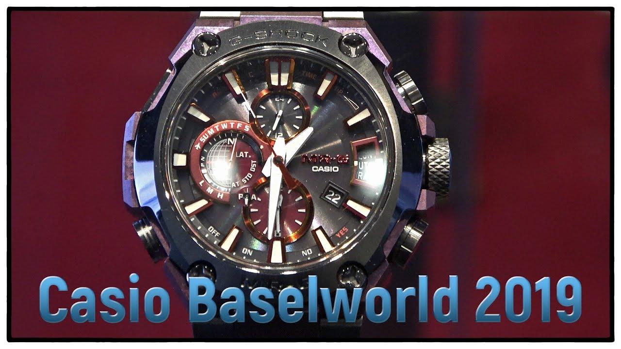 89daf24c7a03 Casio Baselworld 2019 FuwaForestFilms   Uhren Clocks Watches   trade ...