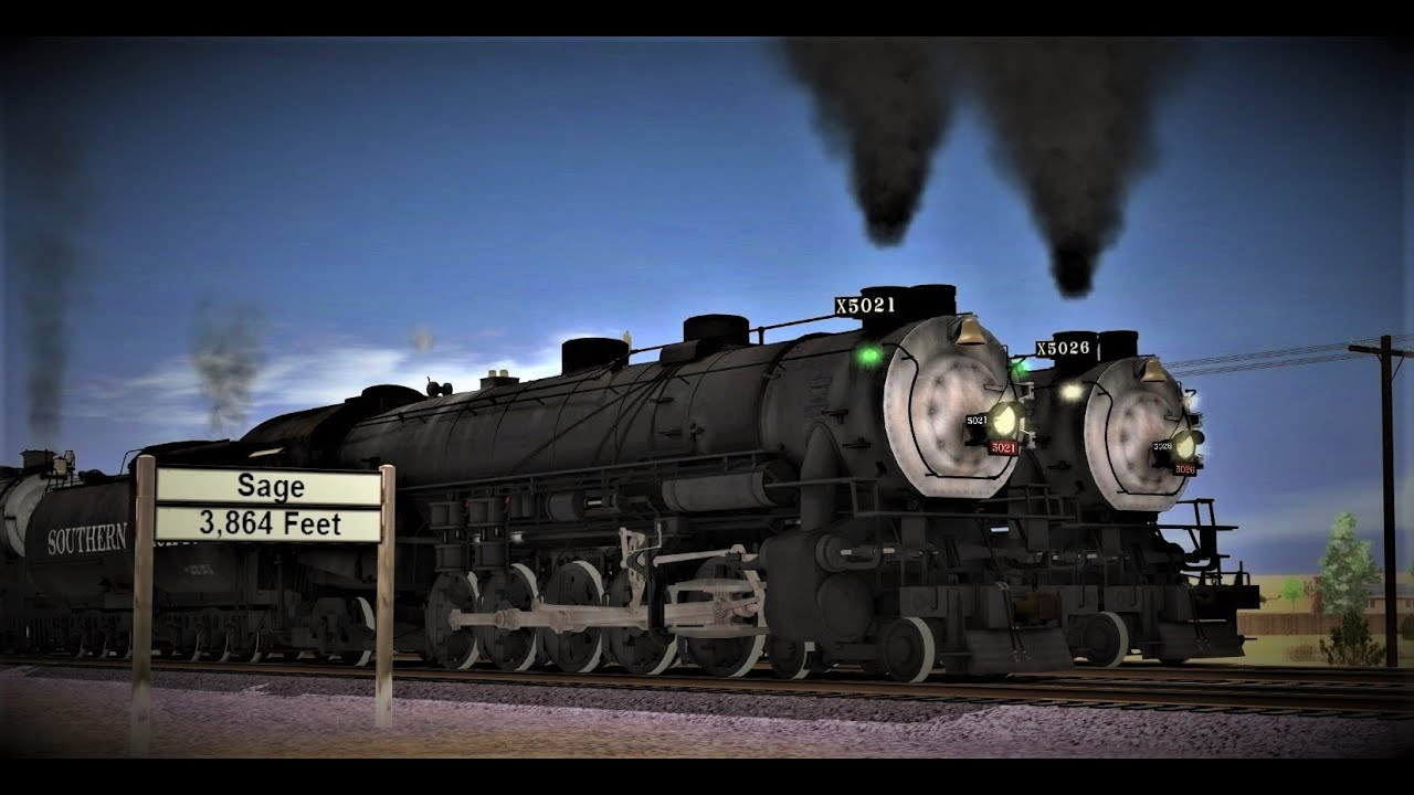 """Southern Pacific GS-6 # 4468   8/"""" x 10/"""" Photo"""