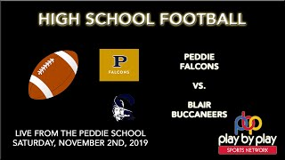 Football: Peddie vs. Blair