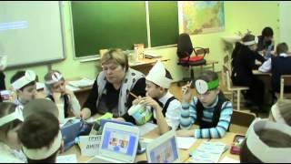 Урок в начальной школе г  Серов