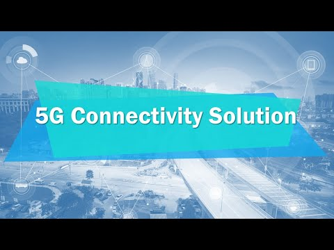 Industrial IoT - 5G Connectivity Solution, Advantech (EN)
