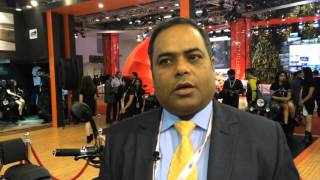 2016 Auto Expo_ Rajeev Mishra, head of UM Motorcycles talks about India's newest motorcycle brand
