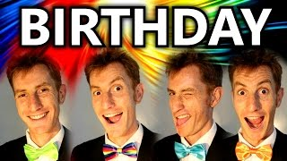Birthday Song (The Beatles) - A Cappella Barbershop Quartet - Julien Neel