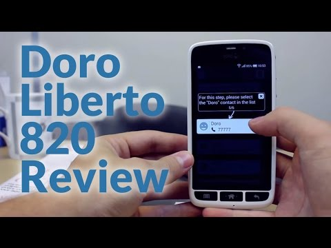 Doro Liberto 820 Review