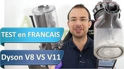 Dyson V11 VS Dyson V8 : 300€ de différence pour quelle efficacité supplémentaire ?