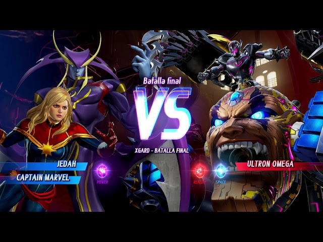 MARVEL VS. CAPCOM: INFINITE Jeddah-Cap Marvel
