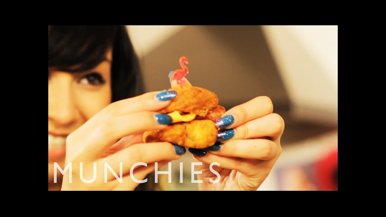 Mini Fried Chicken Hors d'Oeuvres: Girl Eats Food (Episode 5)