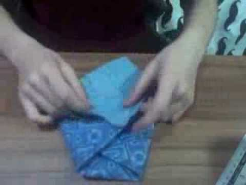 Origami Pouch Bag Quick Demo