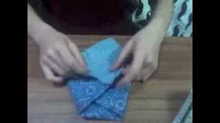 Origami Pouch Bag: Quick Demo Thumbnail