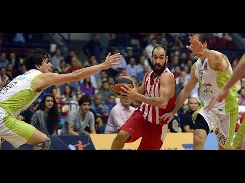 Olympiacos Vs Unicaja Malaga 69-61 Euroleague 2014