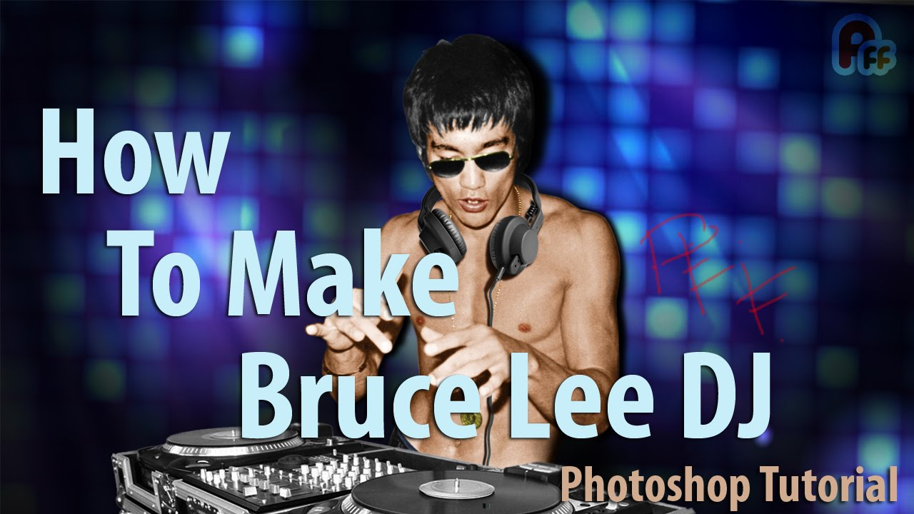 kid largest selection of 2019 novel style Photoshop Tutorial   How to Make - Bruce Lee DJ (Lazy Photoshop)