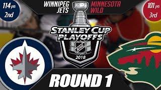 Winnipeg Jets vs Minnesota Wild - Round 1 Playoff Preview