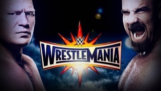 Goldberg vs Brock Lesnar Full Match HD - WWE Wrestlemania 33