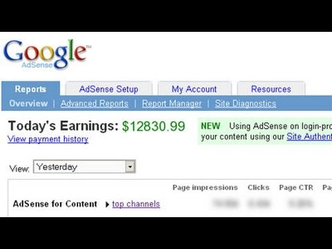 видео: google adsense.Для чего и почему+как активировать!