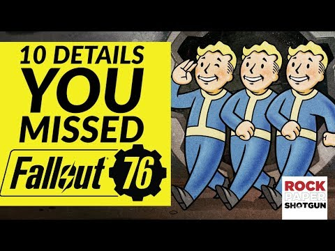 10 Secrets You May Have Missed In The Fallout 76 Gameplay Demo - E3 2018