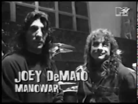 Manowar - 1994 - Hannover - Loudest Band World Record - MTV Headbanger's Ball