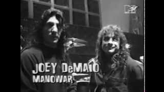 Manowar - 1994 - Hannover - Loudest Band World Record - MTV Headbanger's Ball