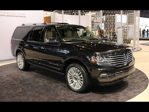 2015 lincoln navigator first look 2014 chicago auto show youtube. Black Bedroom Furniture Sets. Home Design Ideas