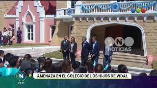 Amenaza en el colegio de los hijos de Vidal