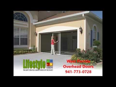 Garage Door Screen Video Youtube