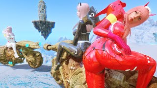 ZEROTWO Outfit! Motorcycle and Android 18! Anime Weeaboo mods! - Skyrim Mod Review Episode 148
