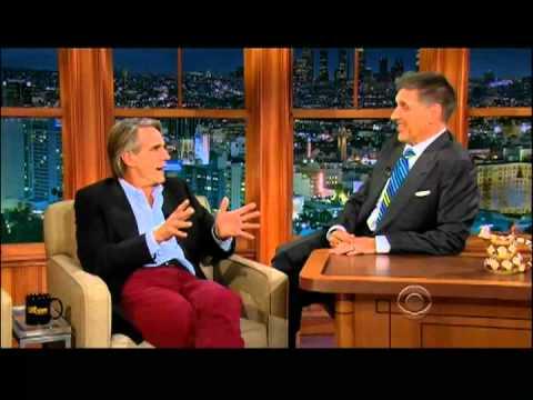 Craig Ferguson 9/5/12D Late Late Show Jeremy Irons