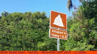 Kawela Bay Location North Shore Oahu Hawaii - Scott Sylvan Bell [TRAVELBLOGTROPICAL.COM]