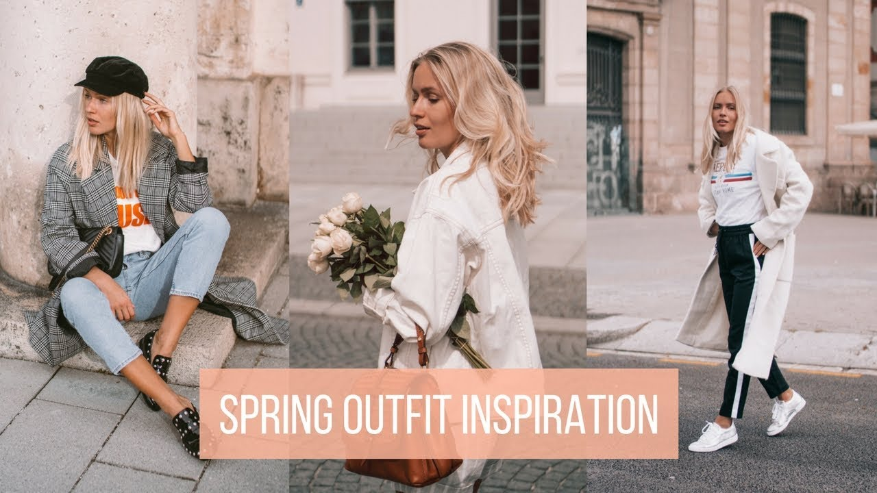 SPRING OUTFIT INSPIRATION   5 cute & casual looks