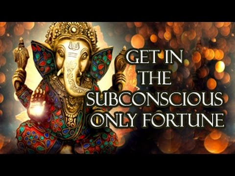 BOLD Affirmations    Get them into the subconcious - the  Power house of GOOD FORTUNE