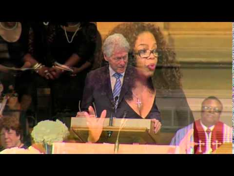 Clinton School Of Public Service >> DR. MAYA ANGELOU : Laid to Rest, Saturday June 7 (FUNERAL PICS) - YouTube