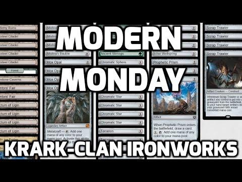 Modern Monday: Krark-Clan Ironworks (Match 1)