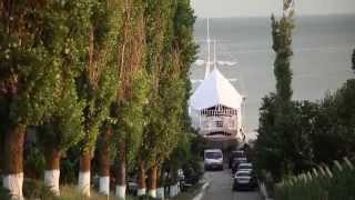 Пансионат Приморский (Луговое, Украина)(Вас приветствует пансионат