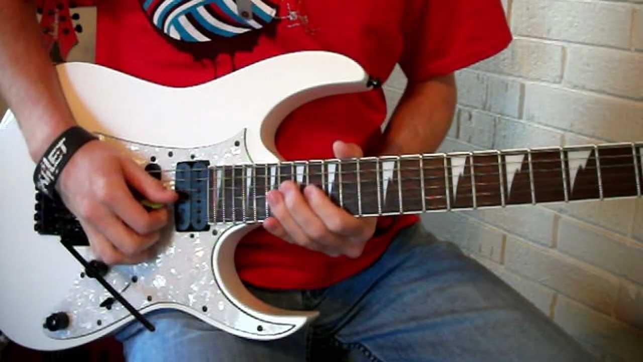 Happy Birthday Rock 2011 Solo Lesson Youtube