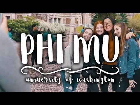 Phi Mu | University of Washington | Recruitment 2018