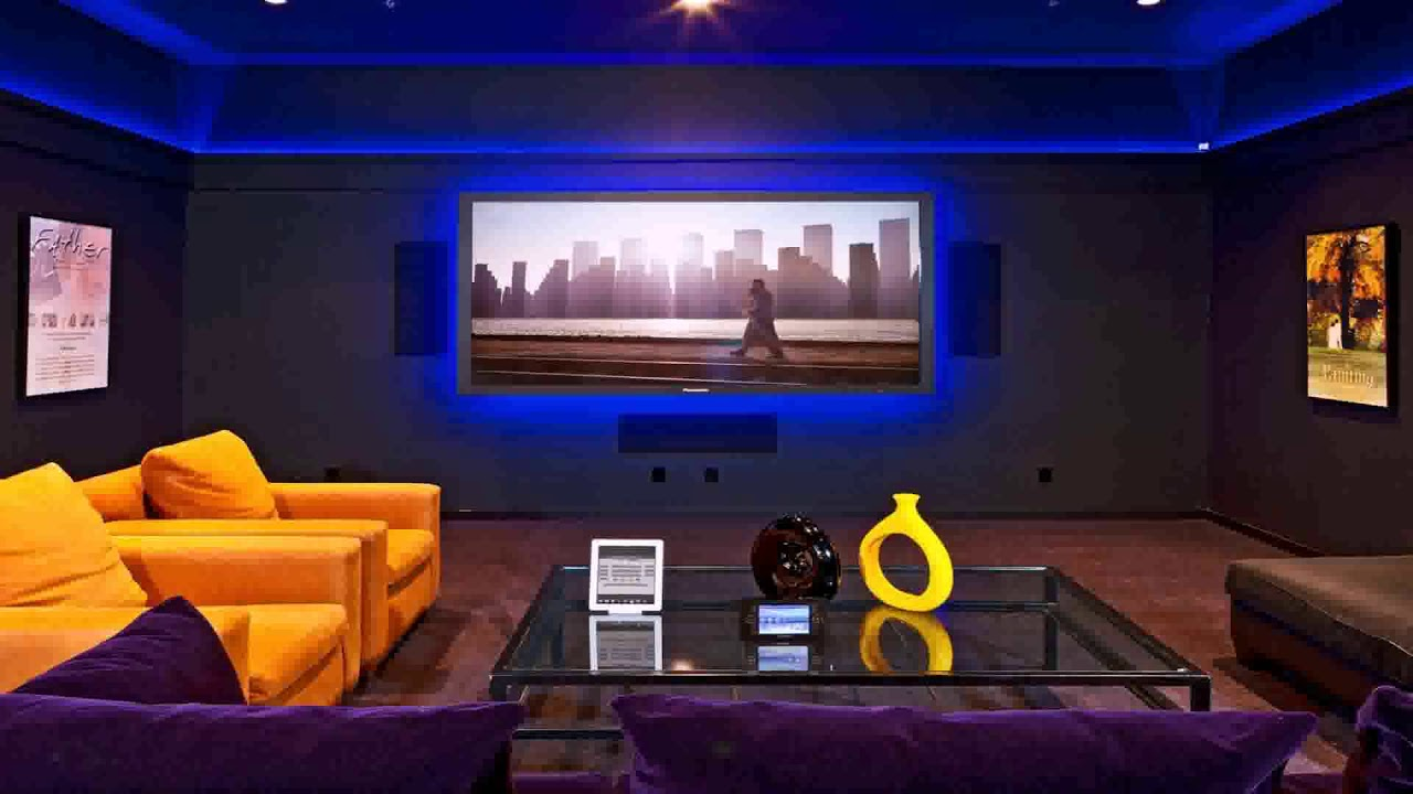 Home theater small room design ideas youtube for Room decor youtube channel
