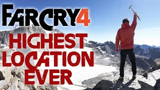 Far Cry 4 Wingsuit | Highest Location EVER!! A secret place