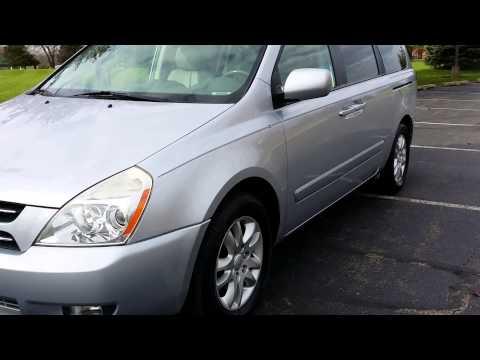 2007 Kia Sedona EX walk around review Uber XL Cheap