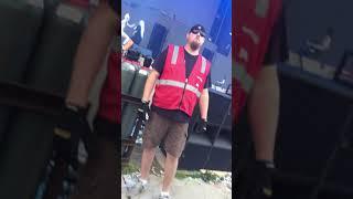 Summer set 2017 Die Antwoord live front row