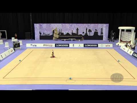 KILAVUZ Selin (TUR) - 2014 Rhythmic Worlds, Izmir (TUR) - Qualifications Ball