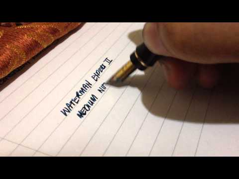 Waterman Expert II, Medium - Writing Sample