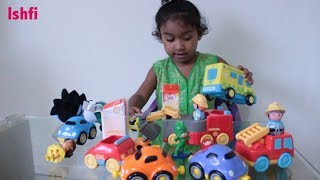 Ishfi's Play time with Toys and Cars